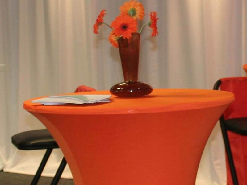Touareg Tent accessories Cocktail table Orange lycra cover