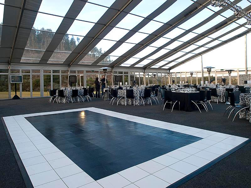 Touareg Tent accessories black and white Dance Floor