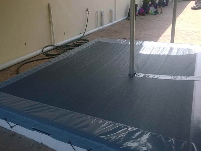 Touareg Tents sand pit cover