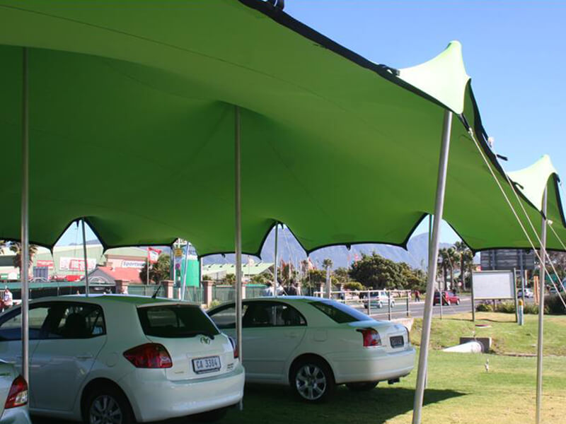Touareg Stretch lime green stretch tent colours
