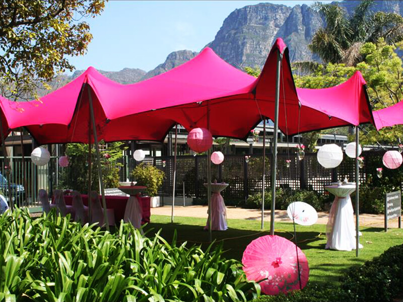 Touareg Stretch Tent pink stretch tent