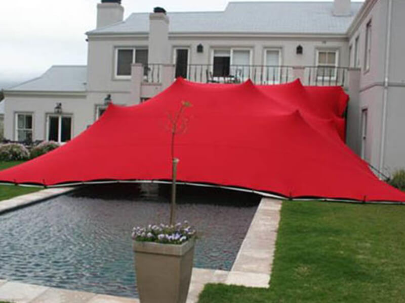 Touareg Stretch Tent red stretch tent